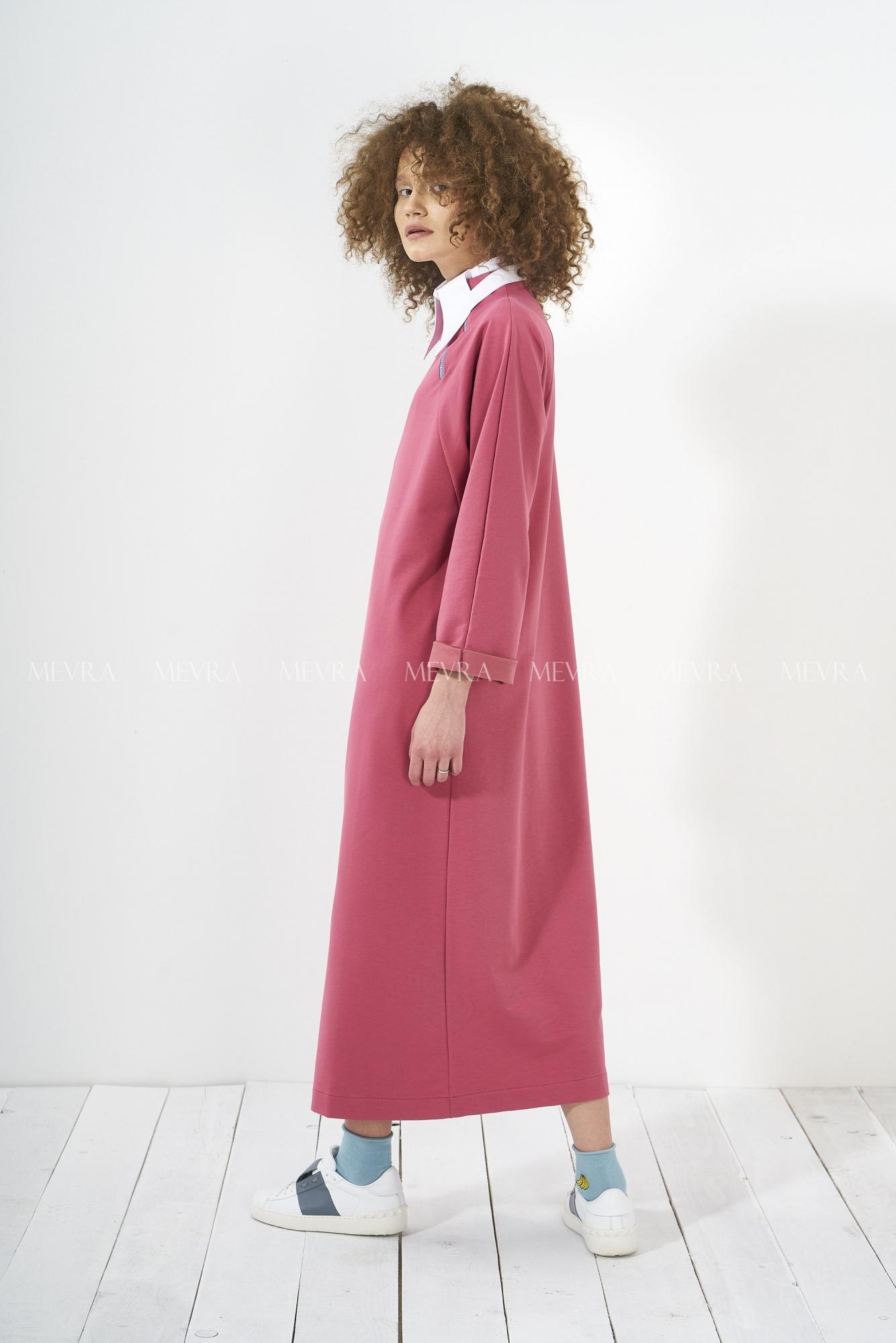 f5e62b444fd2e Uzun Elbiselerde Salaş Tasarımlar - Mevra.com.tr