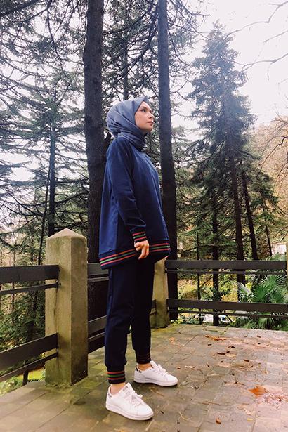 Büzgülü Ekose Elbise