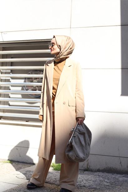 Uzun astarlı ceket